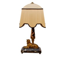 Vintage Sphinx Table Lamp