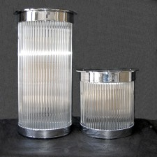 St James Club Art Deco Rod Canister Size Options