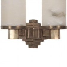 Tiered Deco Sconce Center