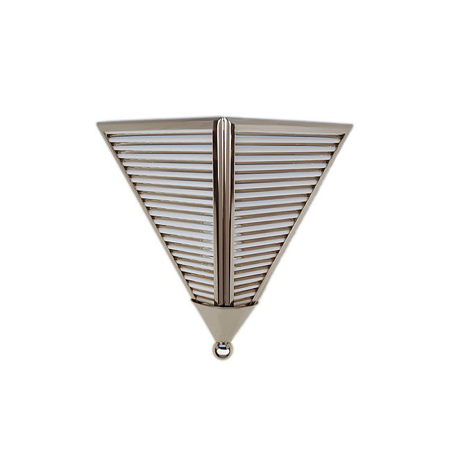 Wall Sconce Lighting Art Deco : Art Deco Triangular Glass Rod Sconce Lighting Art Deco Decor Custom Luxury Lighting