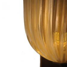 Murano Glass with Gold Dust