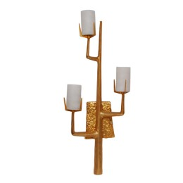 Felix Agostini 24kt Gold Tree Branch Sconce