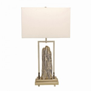 Kyanite Rock Specimen Table Lamp