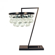 Modern Glass Drop Table Lamp