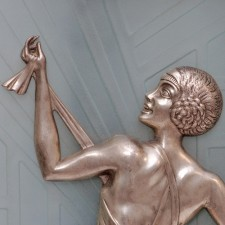 Gory Wall Sconce Lady Detail