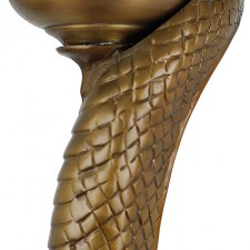 Edgar Brandt Snake Floor Lamp New