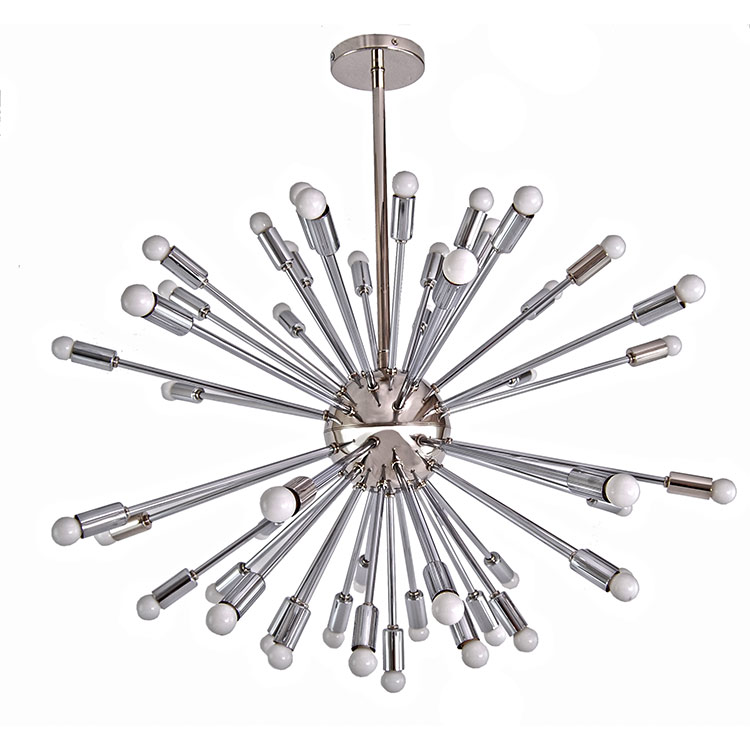 Modern chrome multi light sputnik chandelier custom chandelier add modern chrome multi light sputnik chandelier custom chandelier add custom made high end lighting aloadofball Choice Image
