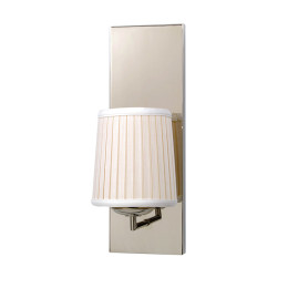 Single Tubular Arm Candelabra Wall Sconce