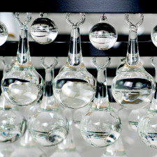 Glass Drops and Balls for Modern Minimal Chandelier