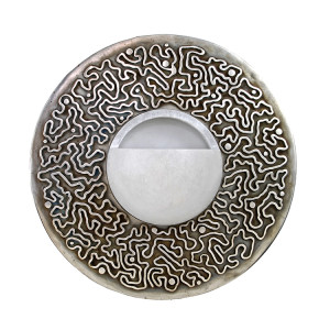 Ruhlmann-Bronze-Circle-Sconce-with-Swiggle-Pattern-750