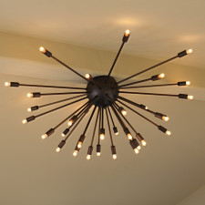 Sputnik Chandelier Oil Rubbed Bronz