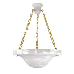 Chandeliers add custom made high end lighting modern style alabaster chandelier with carved edges aloadofball Image collections