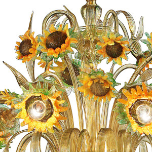 Sunflower Chandelier