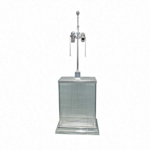 Modern Table Lamp with Glass Rods